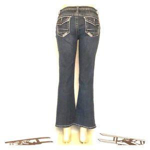 a.n.a. Petite Boot Cut Jeans